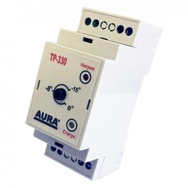 Терморегулятор AURA ТР-330 для небольших систем обогрева площадок или кровли