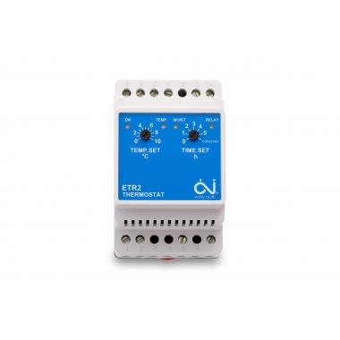 OJ ETR2-1550 - терморегулятор уличный для простых систем обогрева площадок или кровли