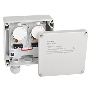 Eberle DTR-E 3102 - терморегулятор уличный герметичный простых систем обогрева площадок или кровли