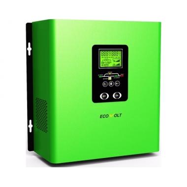 ECOVOLT TERMO 312 - линейно-интерактивный ИБП 300 Вт со сквозной нейтралью с подключением внешних АКБ