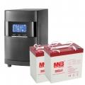 Комплекты Оптима-10: online ИБП 900 Вт с двумя АКБ