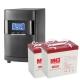Комплекты Оптима-10: online ИБП мощностью 1000 ВА (900 Вт) с двумя внешними АКБ