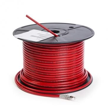 Саморегулирующийся греющий кабель T2Red для теплого пола