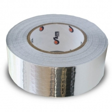 ЛАС-А 50мм х 50 м - лента алюминиевая самоклеящаяся армированная