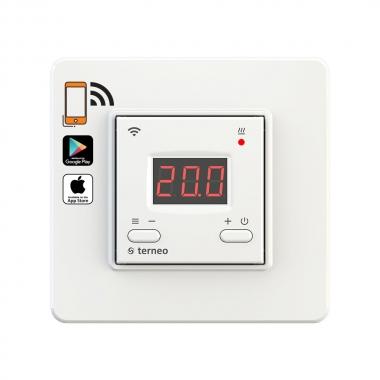 terneo ax белый - недорогой wifi терморегулятор для теплого пола