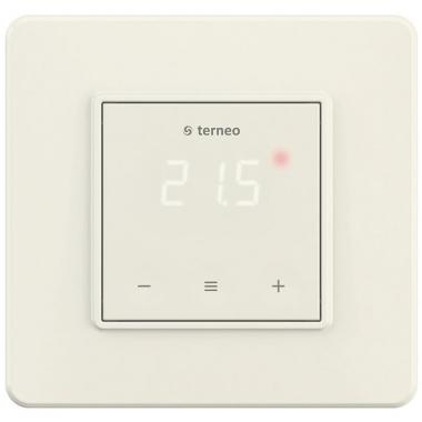 terneo s ivory - сенсорный терморегулятор