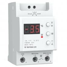 Terneo sn - терморегулятор на DIN-рейку для снеготаяния