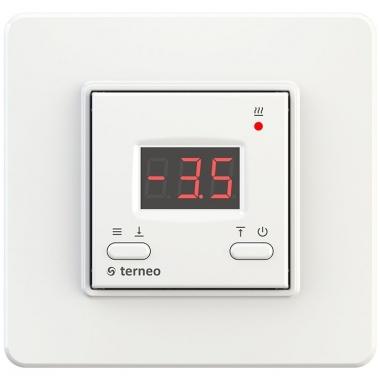 Terneo kt - терморегулятор для систем снеготаяния