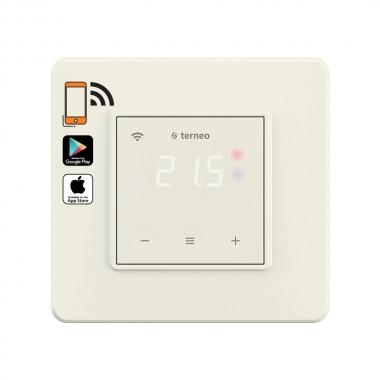 terneo sx ivory (слоновая кость) - wifi терморегулятор с сенсорным экраном