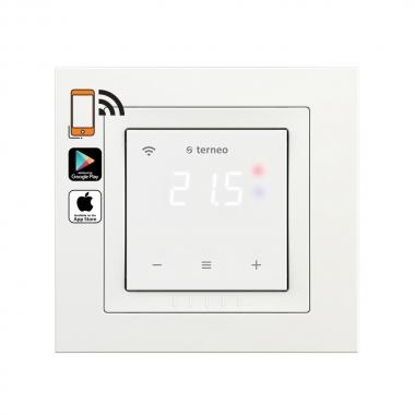 terneo sx unic белый - wifi терморегулятор Schneider UNICA