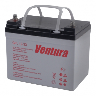 Ventura GPL 12-33 - AGM - аккумуляторная батарея 12 В, 33 Ач