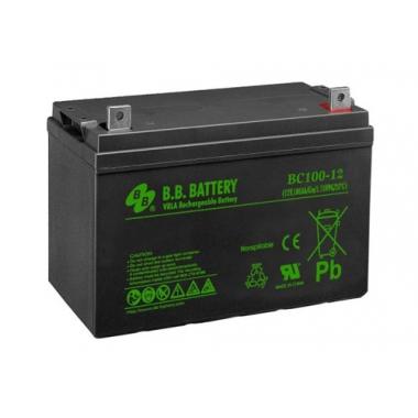 BB Battery BC 100-12 - универсальный аккумулятор 12 В, 100 Ач