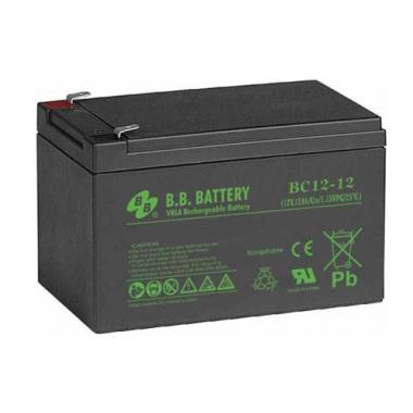 BB Battery BC 12-12 - универсальный аккумулятор 12 В, 12 Ач