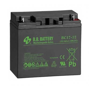 BB Battery BC 17-12 - универсальный аккумулятор 12 В, 17 Ач