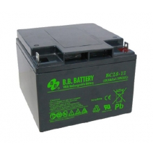 BB Battery BC 28-12 - аккумулятор 12 В, 28 Ач