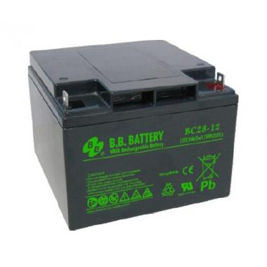 BB Battery BC 28-12 - универсальный аккумулятор 12 В, 28 Ач