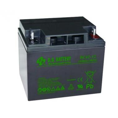 BB Battery BC 42-12 - универсальный аккумулятор 12 В, 42 Ач