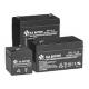Аккумуляторные батареи B.B. Battery серий BP (универсального применения)