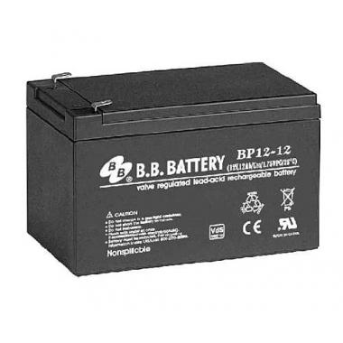 BB Battery BP 12-12 - универсальный аккумулятор 12 В, 12 Ач