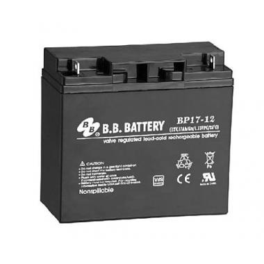 BB Battery BP 17-12 - универсальный аккумулятор 12 В, 17 Ач