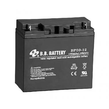 BB Battery BP 20-12 - универсальный аккумулятор 12 В, 20 Ач