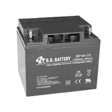 BB Battery BP 40-12 - универсальный аккумулятор 12 В, 40 Ач