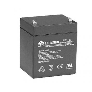 BB Battery BP 5-12 - универсальный аккумулятор 12 В, 5 Ач