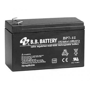 BB Battery BP 7-12 - универсальный аккумулятор 12 В, 7 Ач