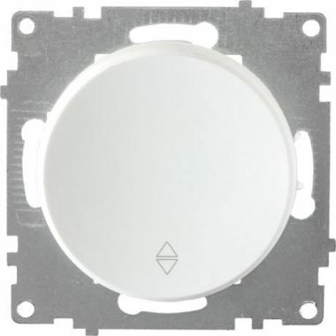 Переключатель одноклавишный OneKeyElectro серии Florence. Цвет белый