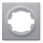 Рамка одинарная OKE Florence. Цвет серый