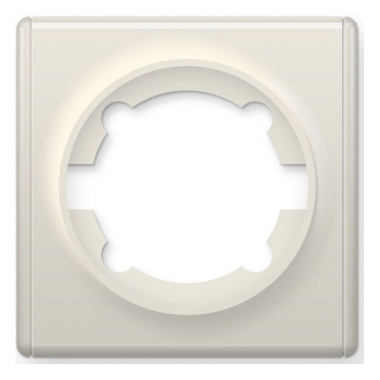 Рамка одинарная OneKeyElectro серии Florence. Цвет бежевый
