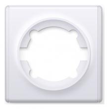 Рамка одинарная OKE Florence. Цвет белый