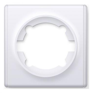 Рамка одинарная OneKeyElectro серии Florence. Цвет белый