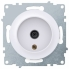 Розетка антенная ТВ OneKeyElectro серии Florence. Цвет белый