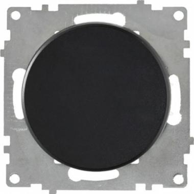 Выключатель одноклавишный OneKeyElectro серии Florence. Цвет черный