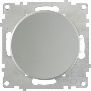 Выключатель одноклавишный OneKeyElectro серии Florence. Цвет серый