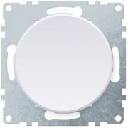 Выключатель одноклавишный OKE Florence. Цвет белый