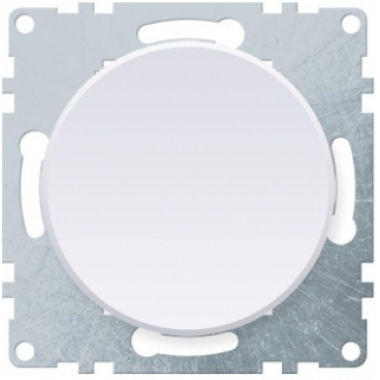 Выключатель одноклавишный OneKeyElectro серии Florence. Цвет белый