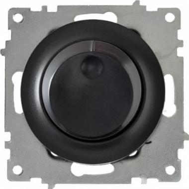 Диммер (светорегулятор) OneKeyElectro серии Florence. Цвет черный