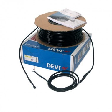 DEVI DTCE-30, 20 м, 576 / 630 Вт - нагревательная секция, длина 20 метров