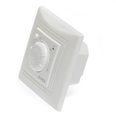 AURA LTC 030 (белый) - простой регулятор в рамку Legrand Valena