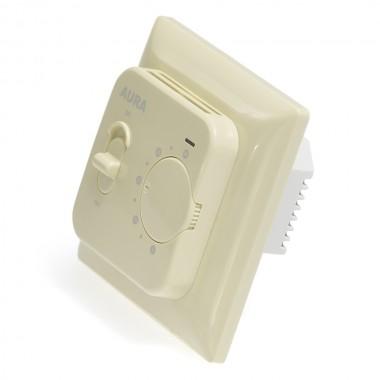 AURA LTC 230 (кремовый/бежевый) - простой и надежный терморегулятор для теплого пола