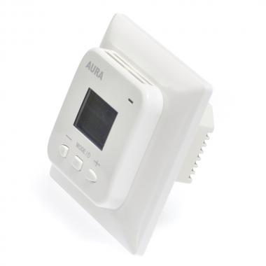 Двухзонный терморегулятор AURA LTC 440 (белый)