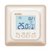 AURA LTC 730 (кремовый/бежевый) - программируемый терморегулятор