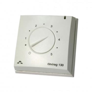 Терморегулятор DEVI 130 - накладной терморегулятор для теплого пола
