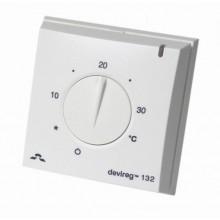 DEVI 132 -  накладной регулятор с датчиками воздуха и пола