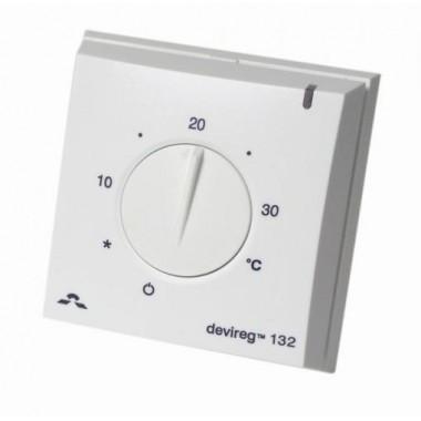 DEVIreg 132 - накладной терморегулятор с датчиками пола и воздуха