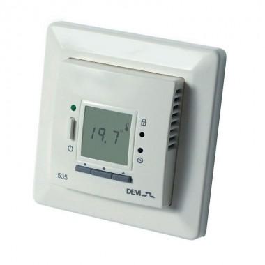Терморегулятор DEVI 535 -  электронный регулятор с ЖК-экраном