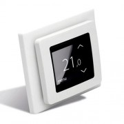 DEVIreg Touch (polar white, полярно белый) - сенсорный программируемый регулятор