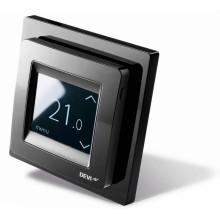 DEVIreg Touch (черный) - сенсорный программируемый регулятор